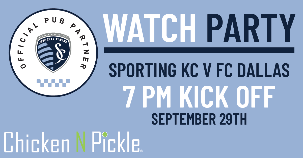 SPKC SEPT 29TH- come watch the game at Chicken N Pickle