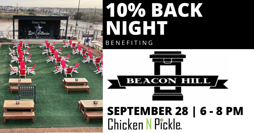 Chicken N Pickle 10% Back Night- Beacon Hill